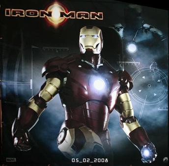 El teaser póster de Iron Man